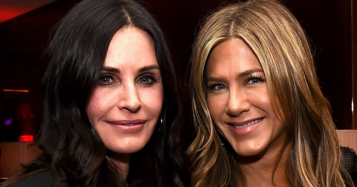 Jennifer Aniston shares throwback photos with Courteney Cox's daughter