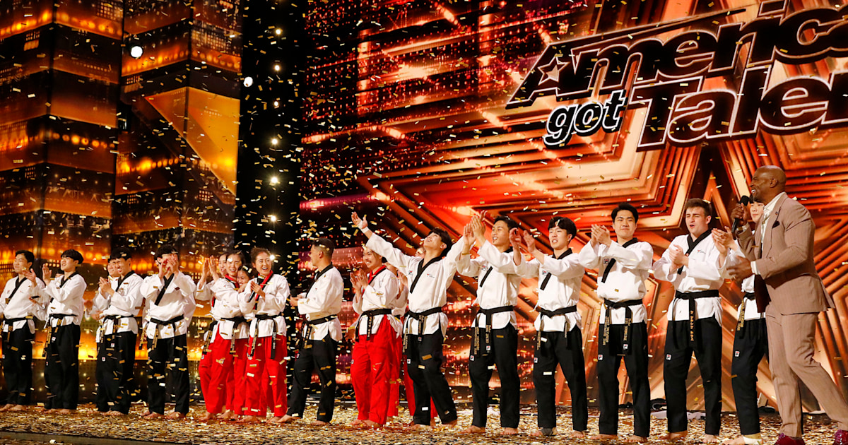 Watch the taekwondo act Simon called 'one of the most extraordinary' in 'AGT' history