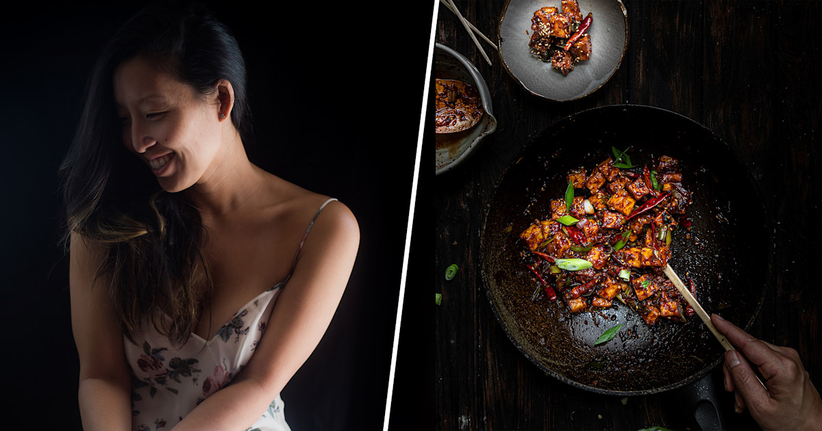 The Korean Vegan serves up spicy tofu, life lessons and stories from her childhood
