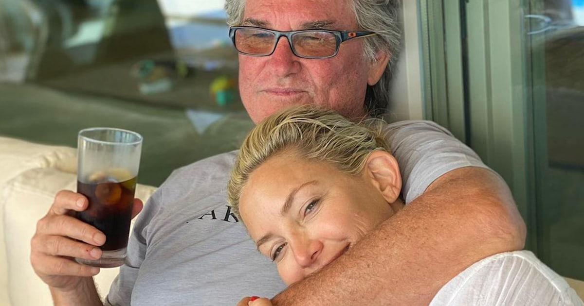 Kate Hudson calls Kurt Russell 'one hell of a dad' in glowing Father's Day post