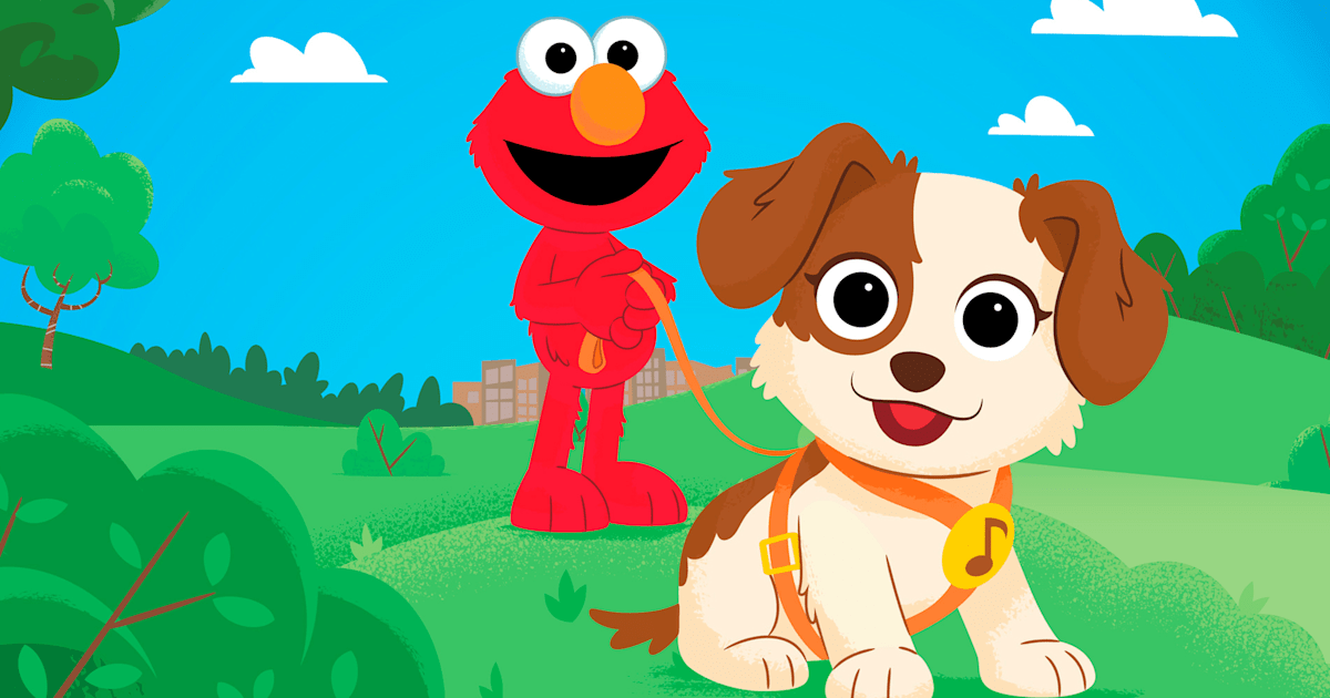 On 'Sesame Street,' Elmo gets a puppy (cue adorableness)