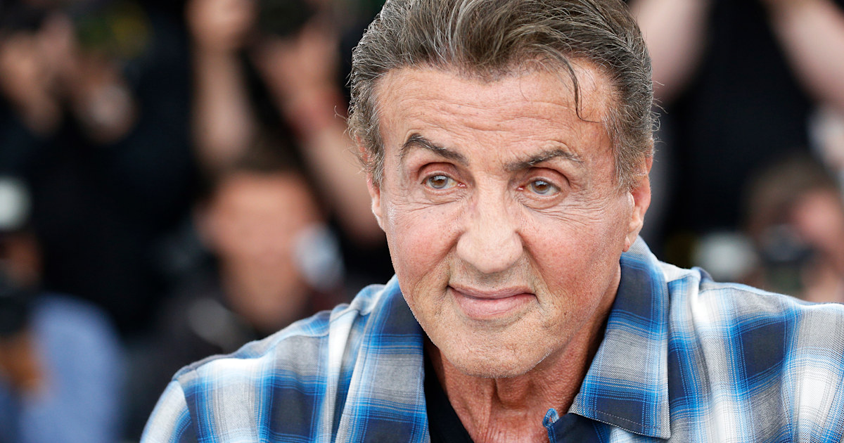 Sylvester Stallone turns 75 and shares new family photo