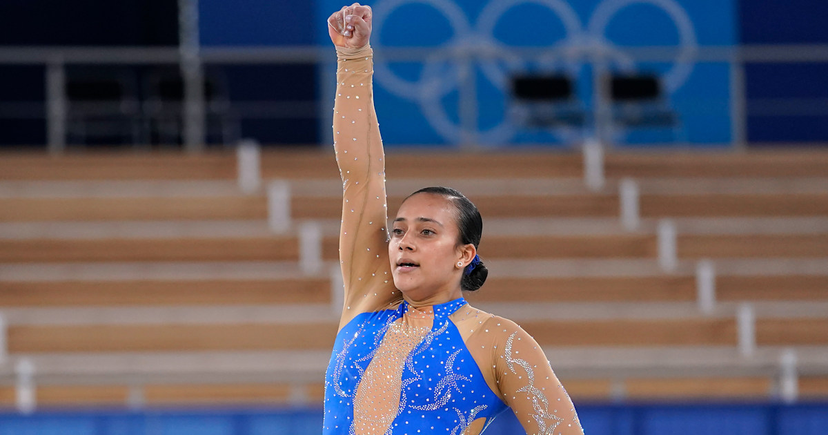 Costa Rican gymnast makes history with Black Lives Matter protest in floor routine