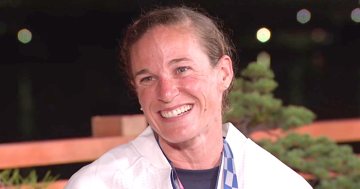 US triathlete Katie Zaferes reveals sign she got from late father before winning bronze