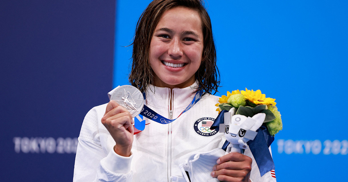 www.today.com: US Olympic swimmer Erica Sullivan deserves the gold for her wit and charm