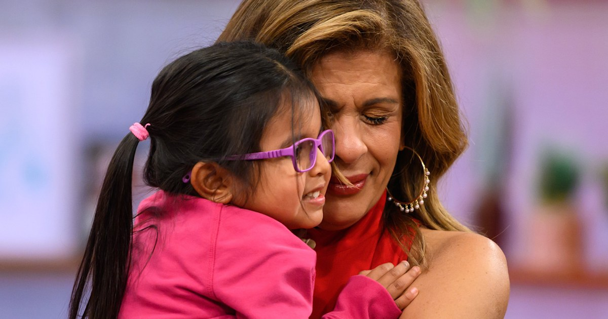 The sweet way Hoda Kotb's 4-year-old reacted to Simone Biles' exit