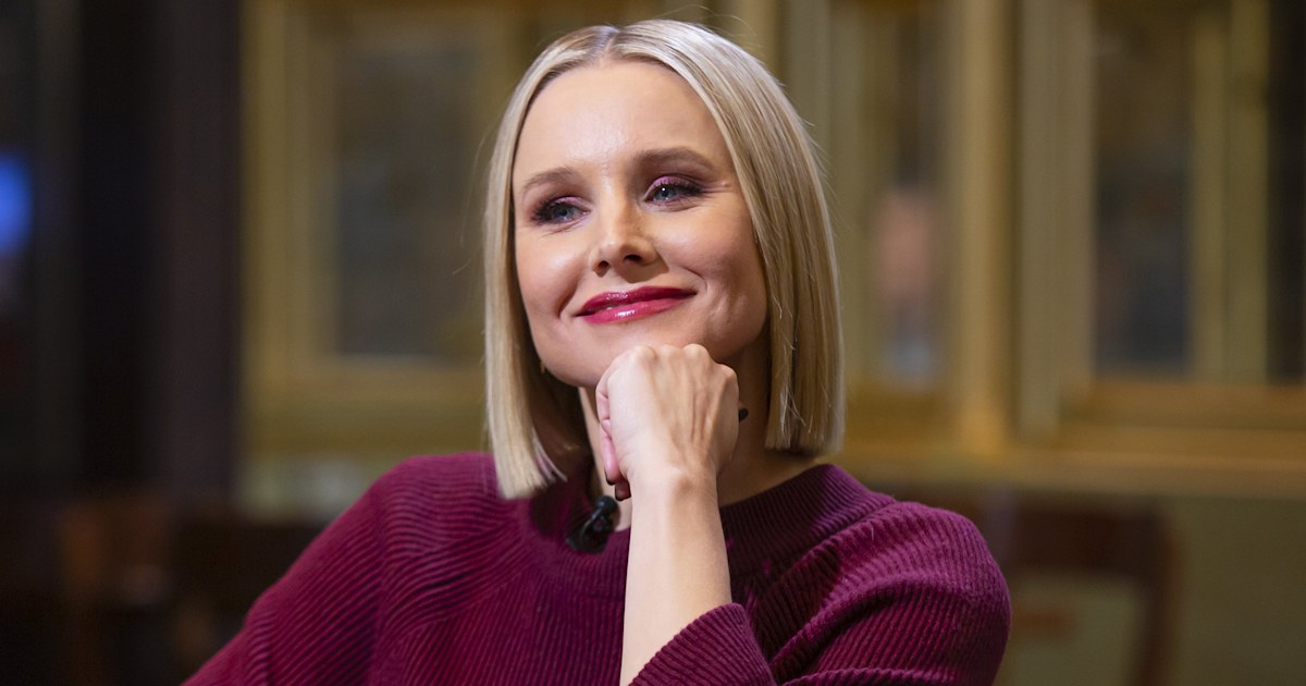 Kristen Bell reveals why her daughter's name is a 'big bummer'