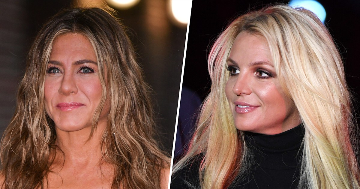 Jennifer Aniston says media 'took advantage of' young '90s stars like Britney Spears