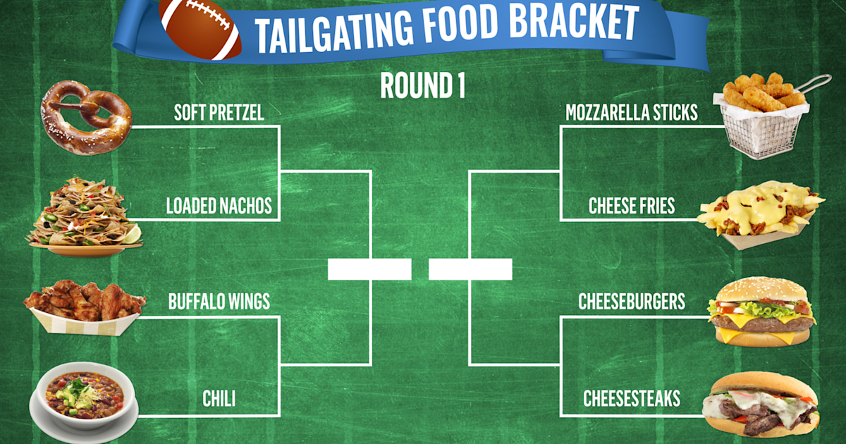 Vote for your favorite football food in TODAY's Top Tailgating Food Bracket