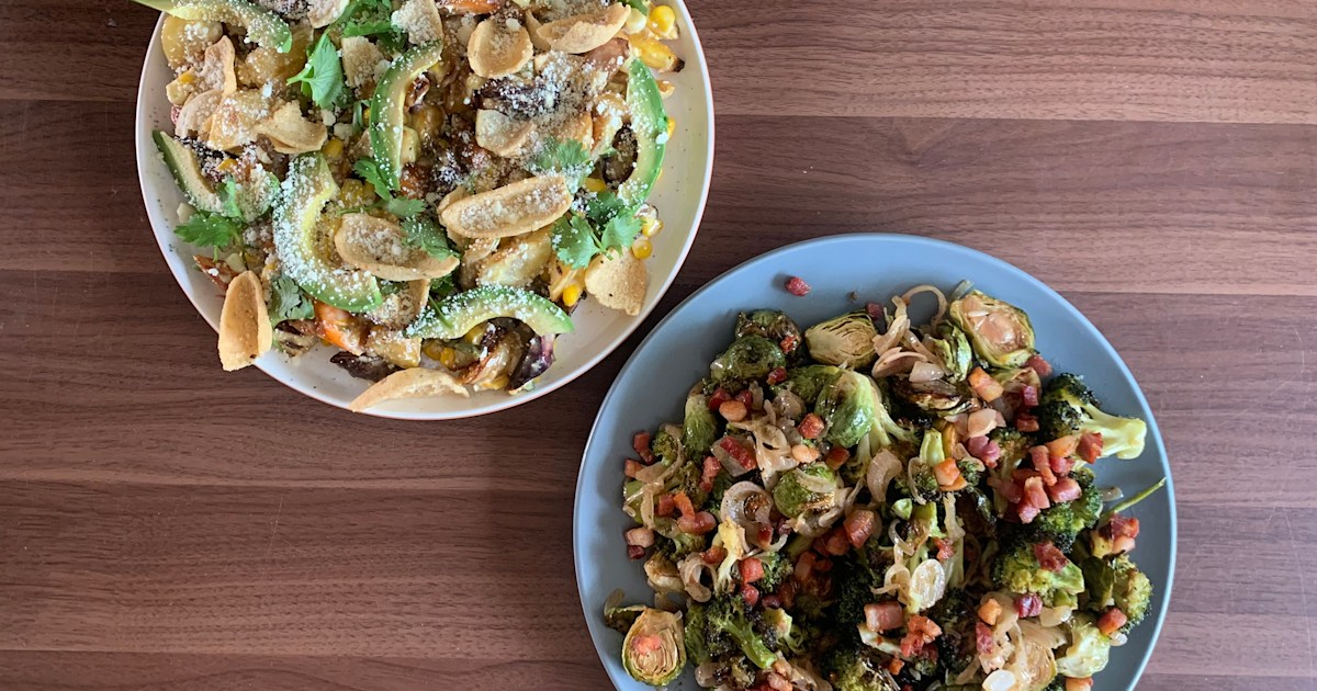 3 satisfying salads that make the most of fall vegetables