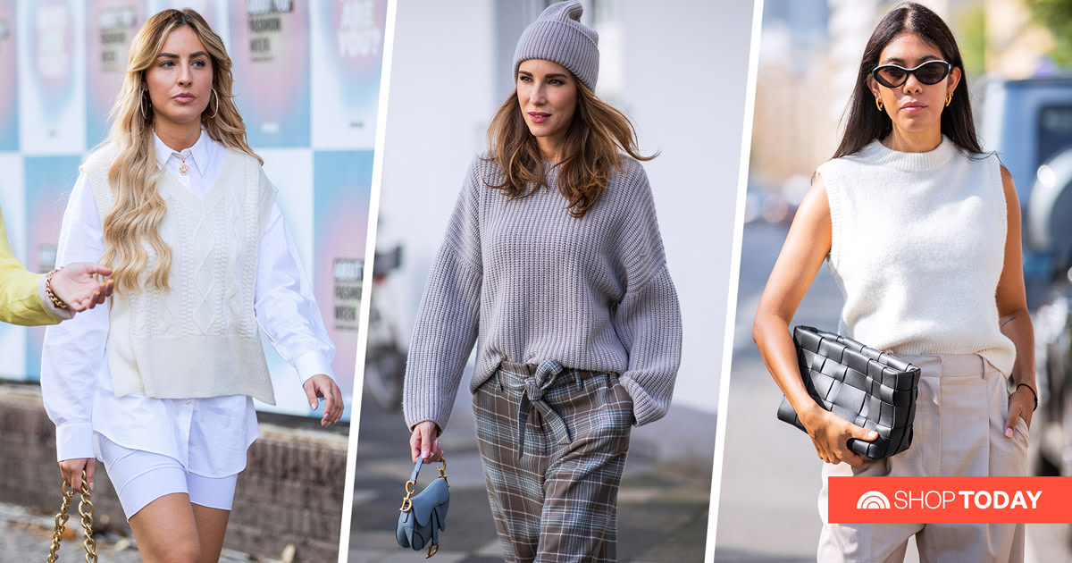 A stylist shares the 8 sweater trends taking over this season