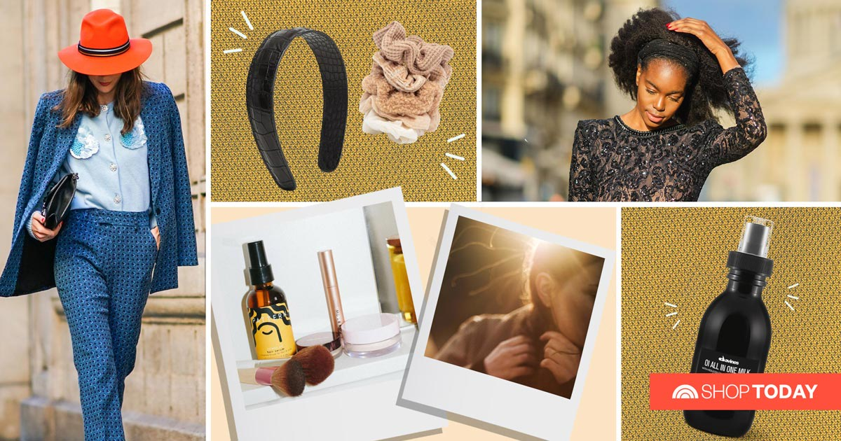 From copper locks to sweater scrunchies, experts share fall's hot hair trends