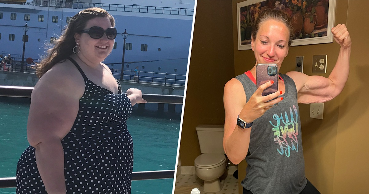 'I smashed it': Woman ditches scale after losing 200 pounds in 15 months