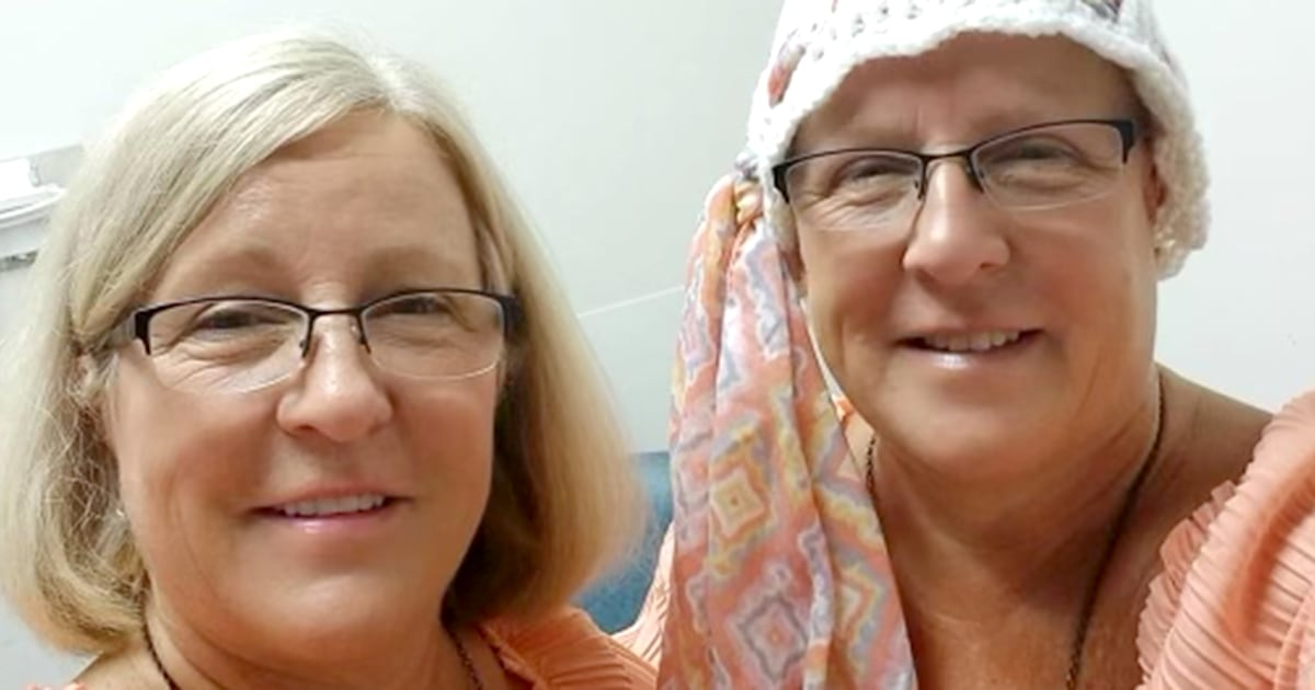 Twins diagnosed with ovarian cancer at the same time speak out to spread awareness