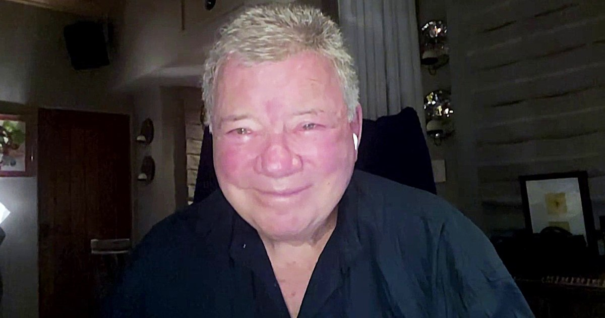 William Shatner talks upcoming mission and seeing 'the vastness of space' for himself - Today.com