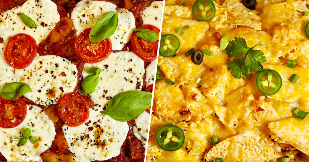 Joy Bauer makes better-for-you pizza and taco casseroles
