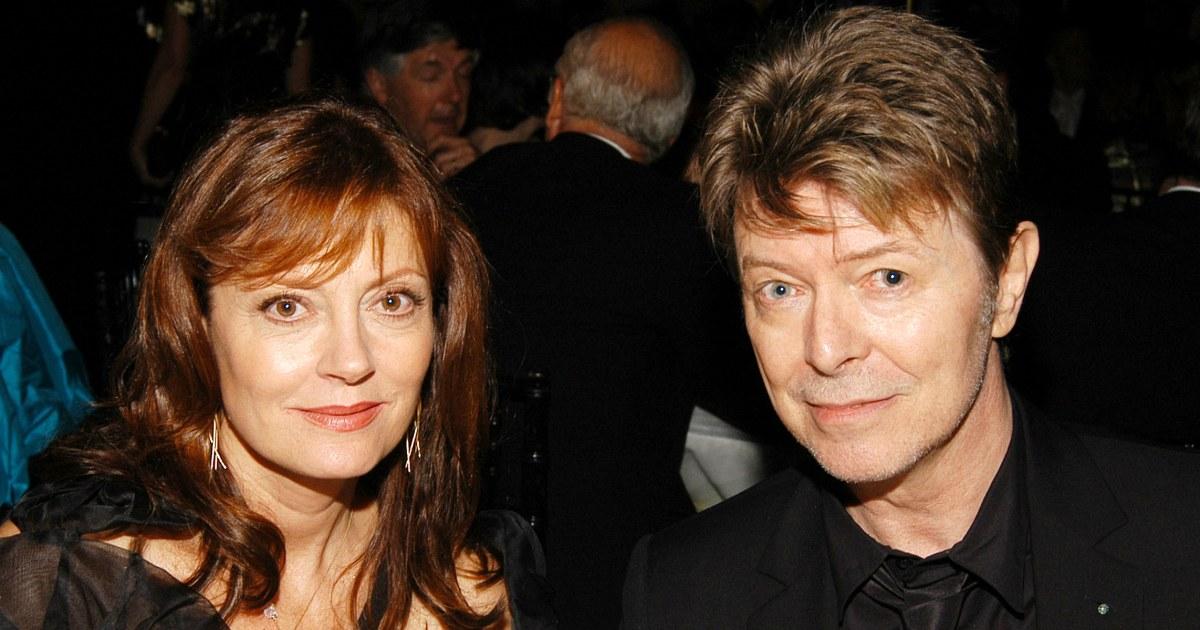 Susan Sarandon recalls bizarre final phone call with David Bowie before he died