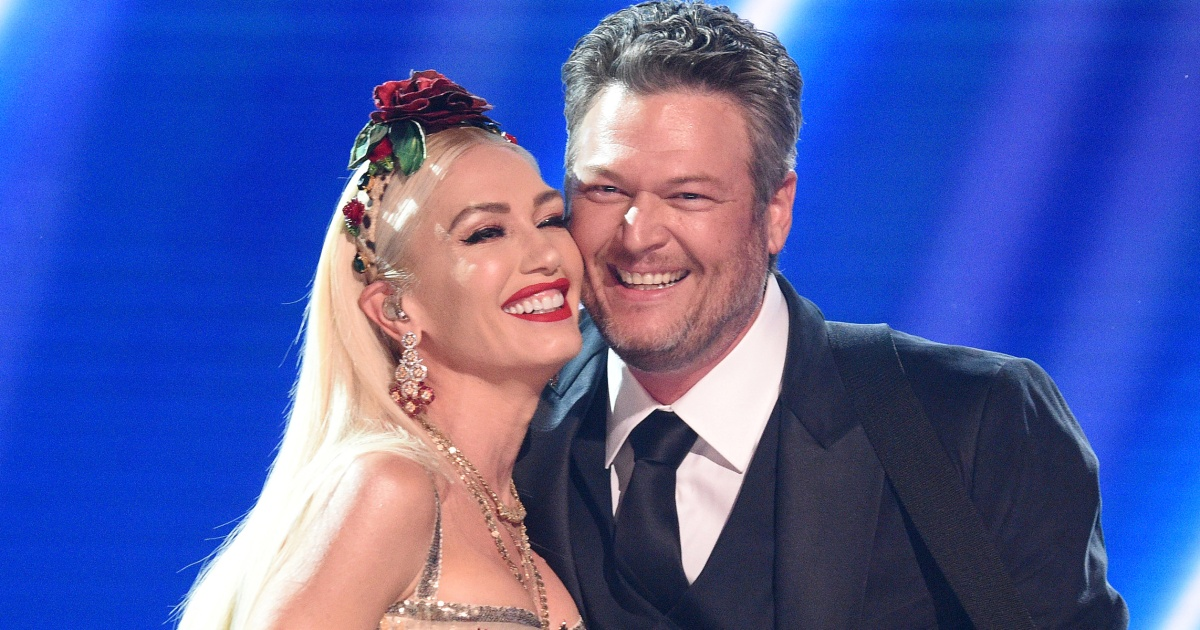 Gwen Stefani shares never-before-seen video from Blake Shelton's proposal