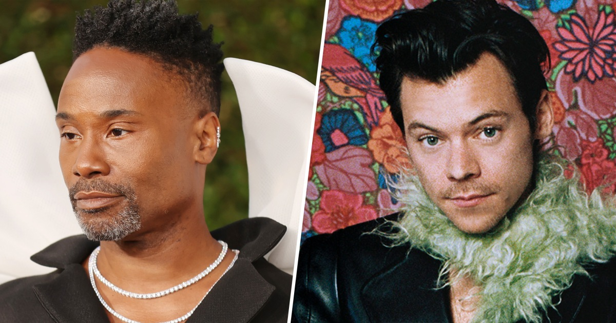 Here's why Billy Porter isn't happy about Vogue cover of Harry Styles in a dress