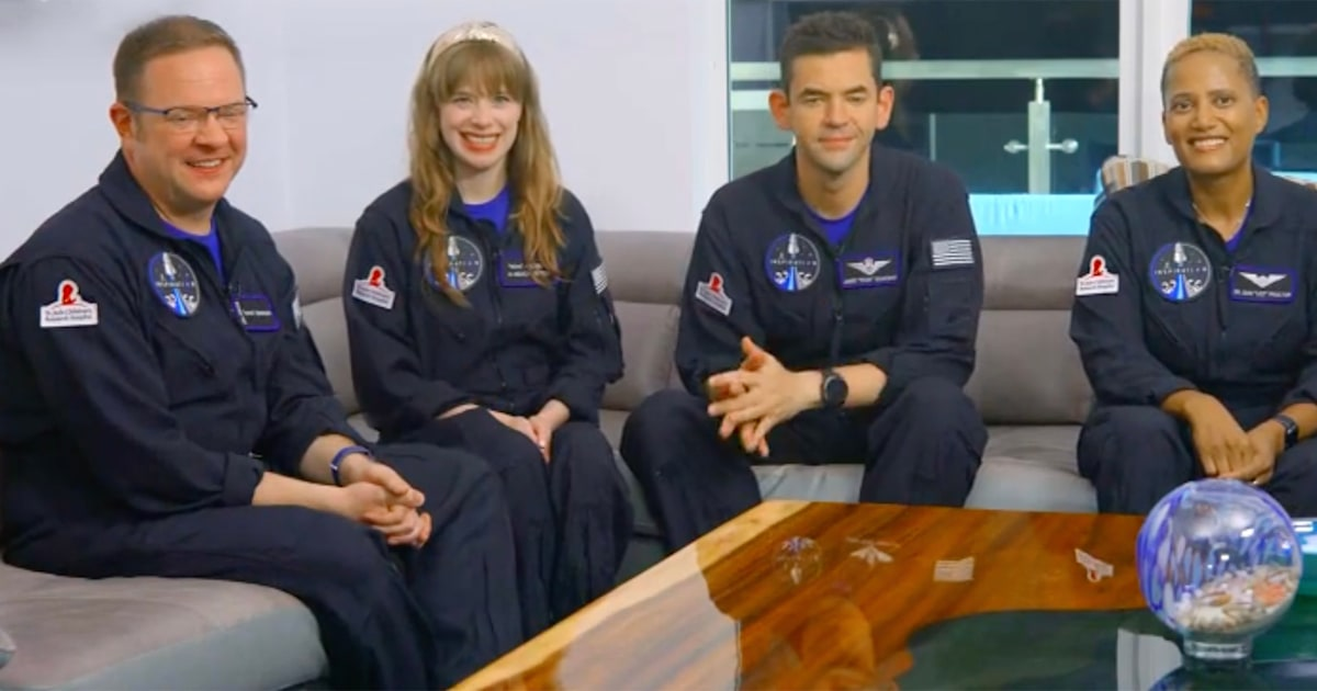 SpaceX's all-civilian Inspiration4 crew detail 'awe-inspiring' mission