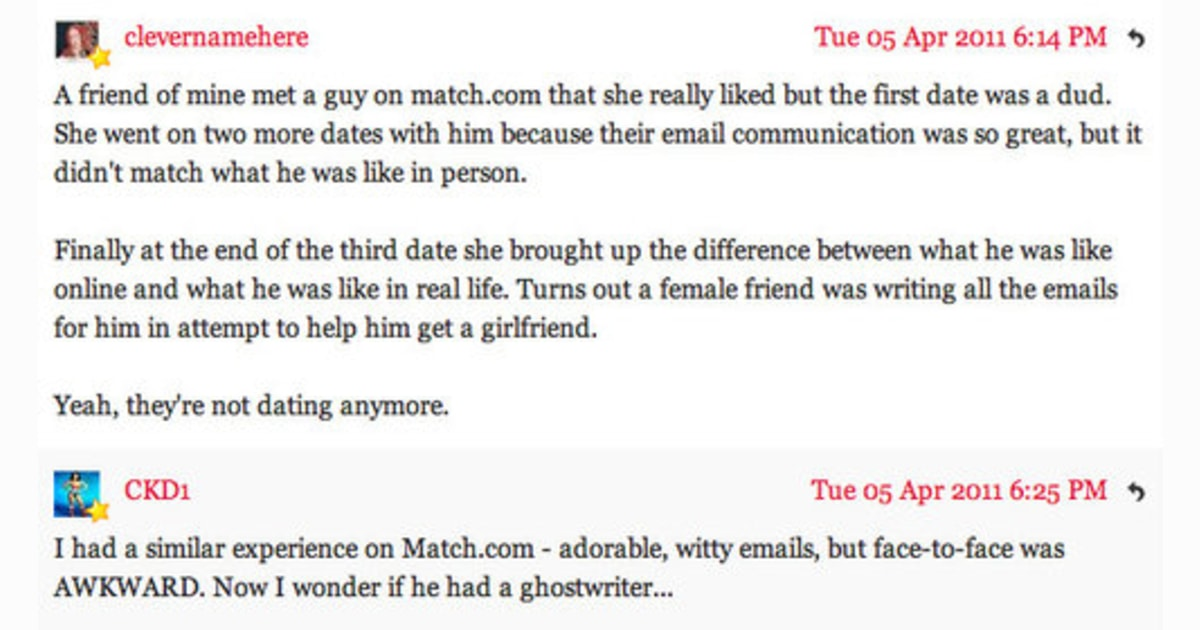 good way to end an online dating email