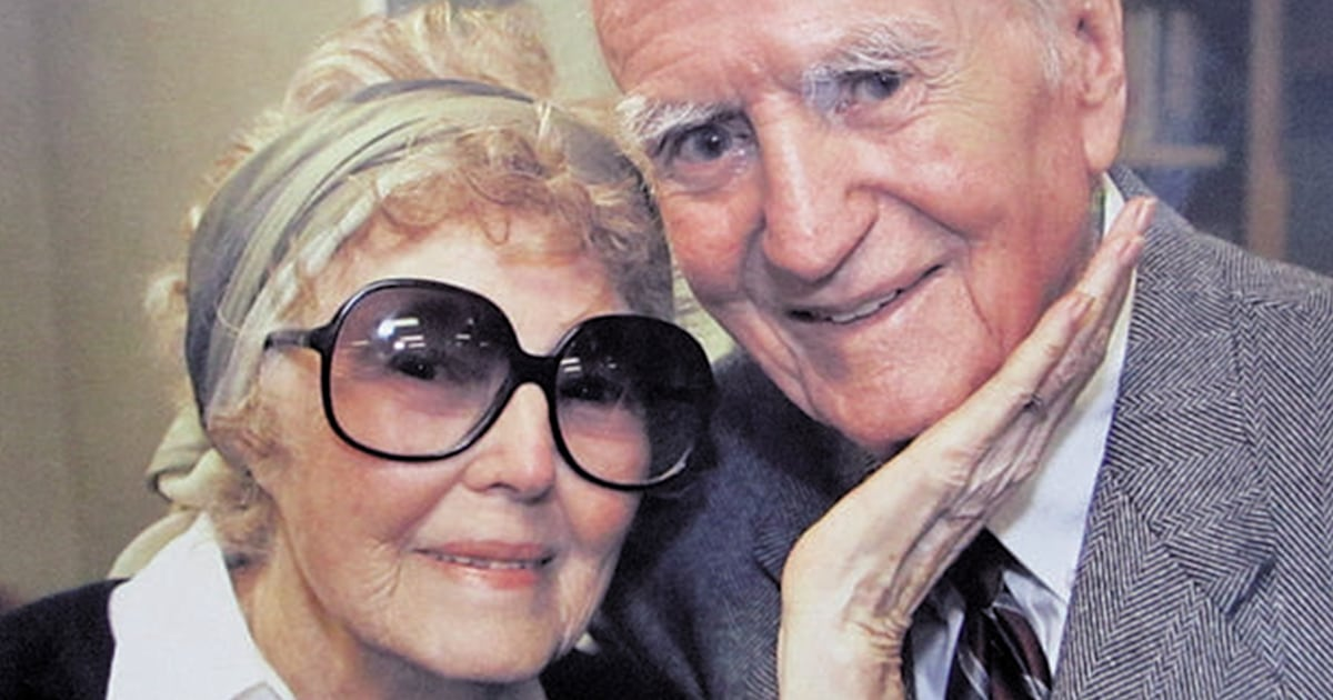 Lifetime of love: Couple married 75 years die a day apart