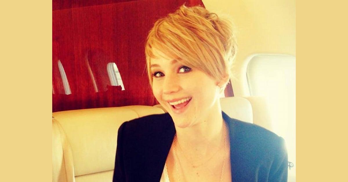 Jennifer Lawrence Explains Pixie Cut My Hair Was Fried
