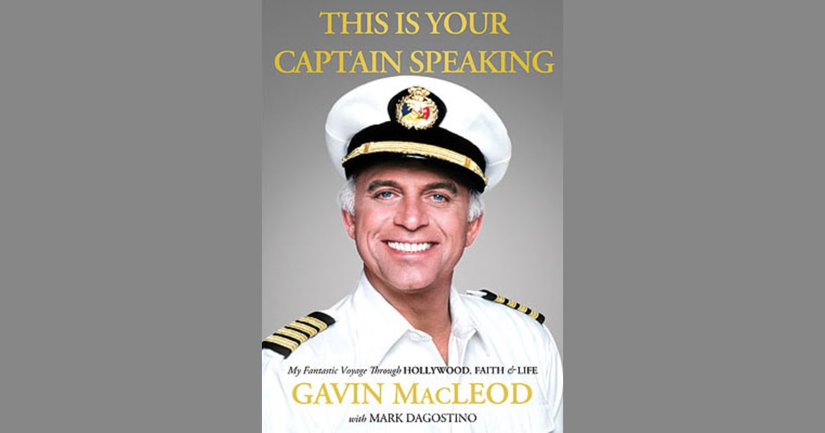 From Lowly Elevator Operator To Love Boat Captain Gavin Macleod