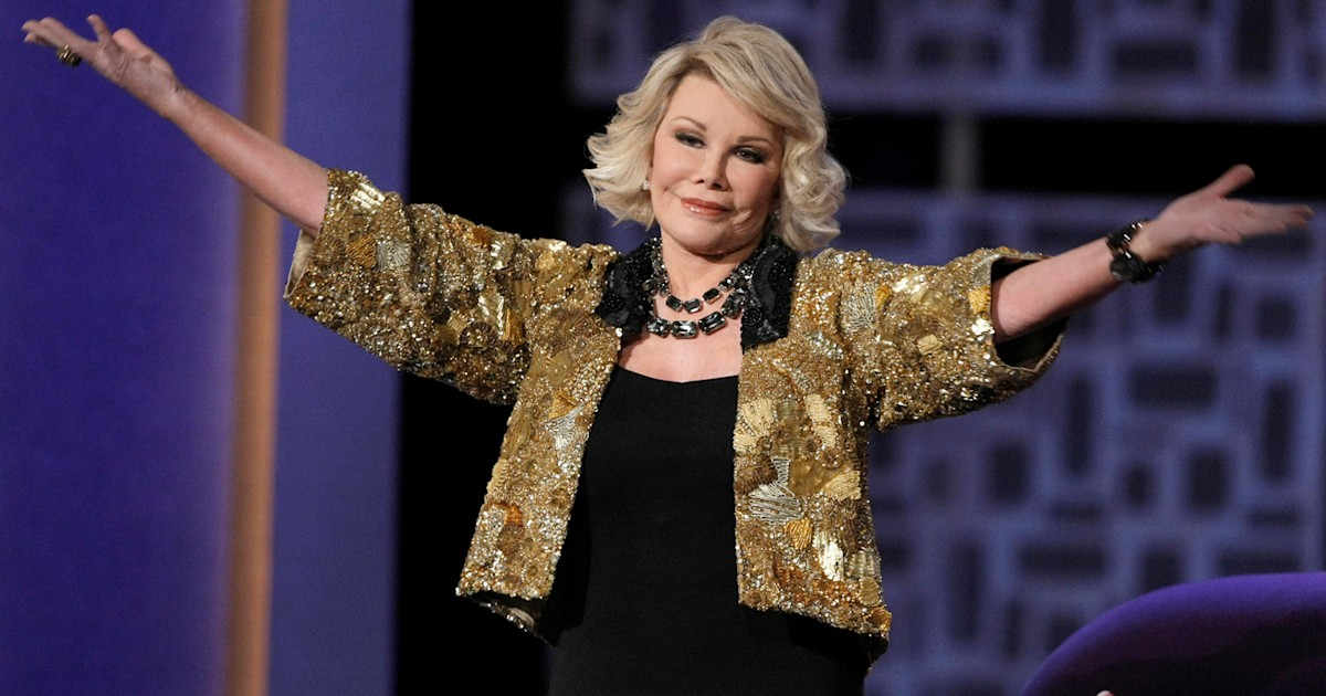 Joan Rivers on life support, daughter says 'we're keeping our