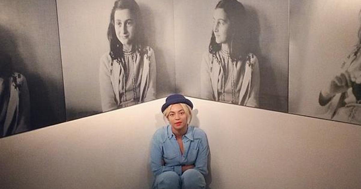 Beyoncé visits Anne Frank House, shares photos on Instagram