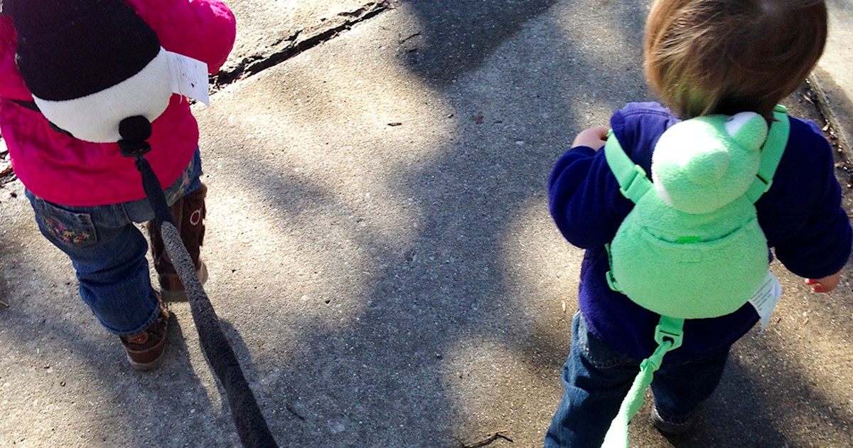 Child 'leashes': Are they helpful or humiliating?