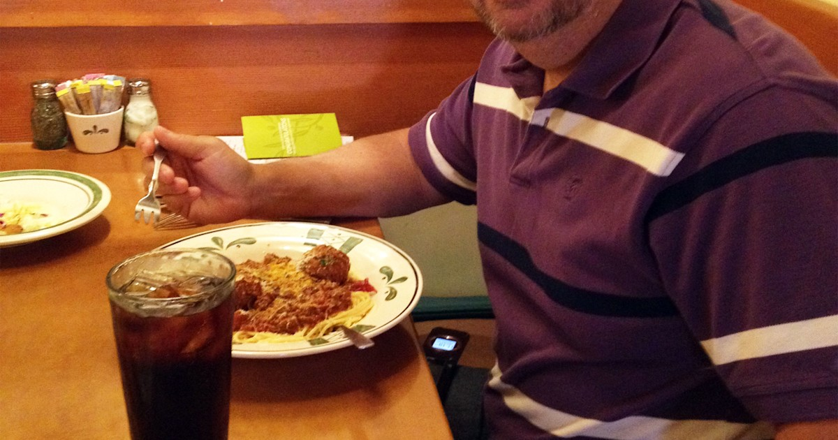 Man eats 100 olive garden meals in 6 weeks with 100 - Does olive garden have gluten free pasta ...