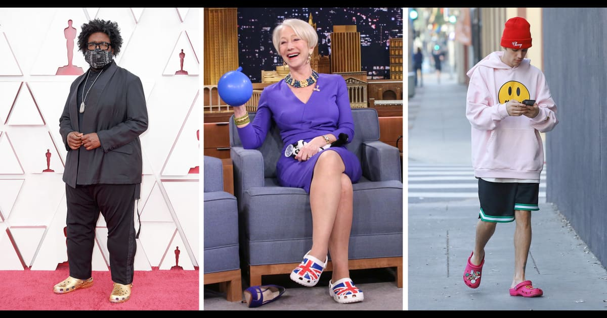 Celebrities can't stop wearing these controversial shoes