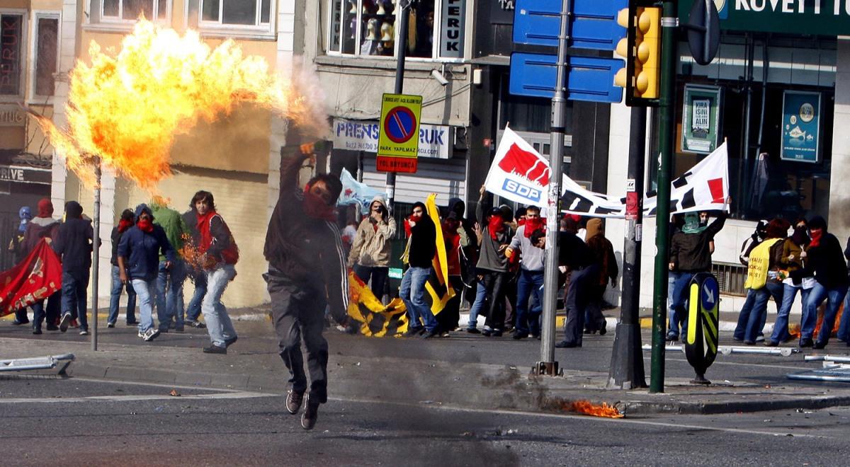 Беспорядки в Турции 1