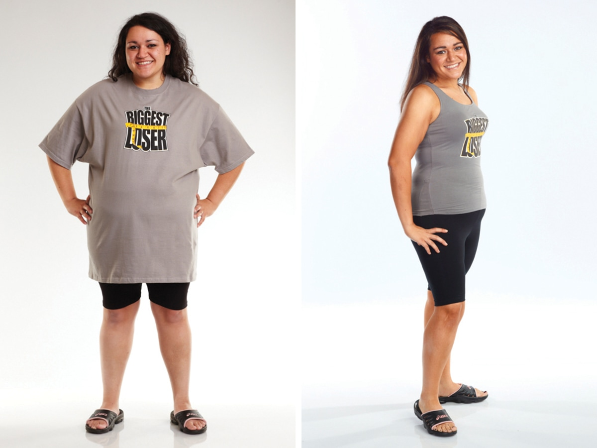 Biggest Loser Season 11  Biggest Loser 11  before and