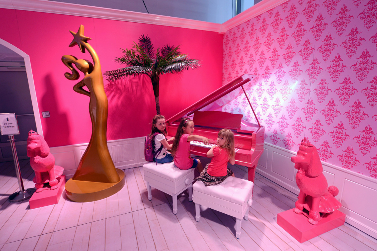 The just opened barbie dreamhouse experience in berlin may 16