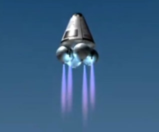 Image: Armadillo future spacecraft