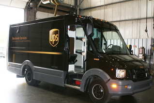 Image: Image of UPS truck