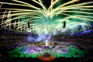 Image: ***BESTPIX***  2012 London Paralympics - Closing Ceremony