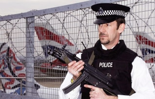 Security Remains Tight At Heathrow Airport