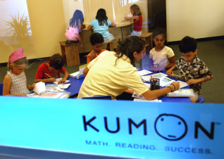 Image: Kumon students