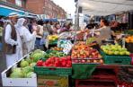 Image: Walthamstow market.