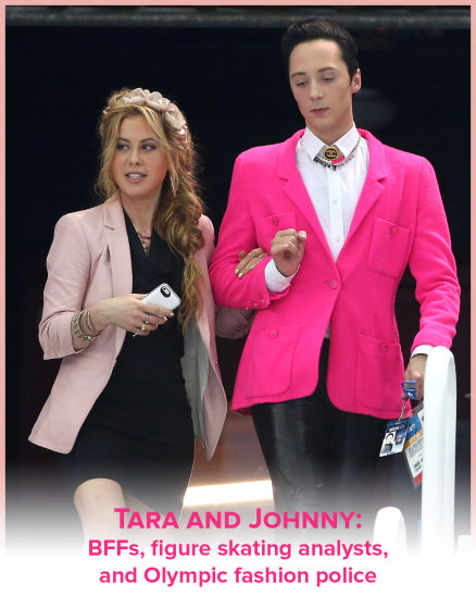 Johnny weir and tara lipinski dating 3