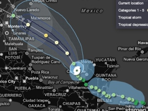 Live hurricane tracker