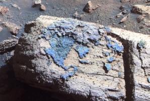 Rover spots strange stuff on Martian rock - Technology