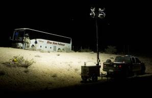 1 dead, 4 seriously hurt in Ariz. tour bus crash - US news ...  1 dead, 4 serio...