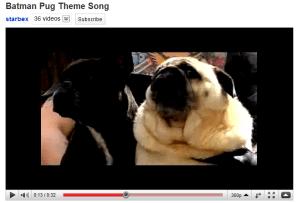 Send up the signal! Batman-singing pug is missing