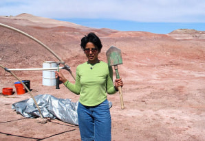 Image: Mohanty at MDRS