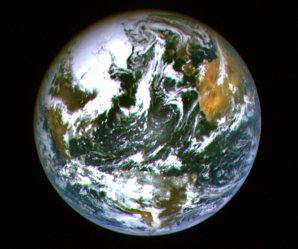 Image: Hayabusa view of Earth