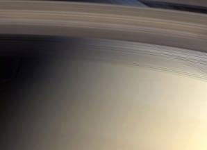 Image: Saturn's rings